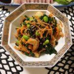 鮭と牡蠣とほうれん草のクリーム煮