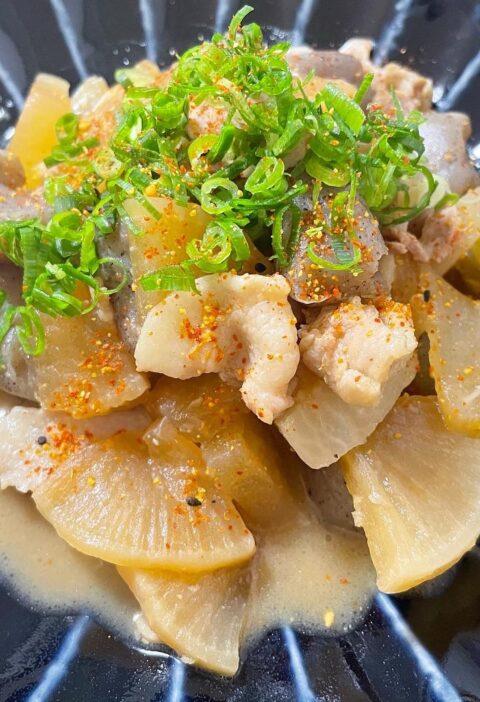 豚バラ大根 味噌煮