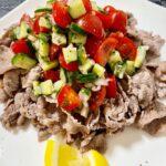 ヘルシーで栄養満点!水菜と枝豆のネバネバ納豆サラダ