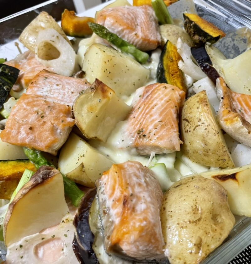 鮭 チーズ オーブン焼き